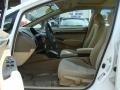 Honda Civic EX Sedan Taffeta White photo #10