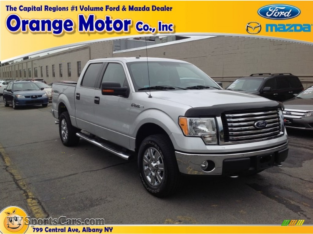 2010 ford f150 xlt supercrew 4x4 in ingot silver metallic for Orange motors albany new york