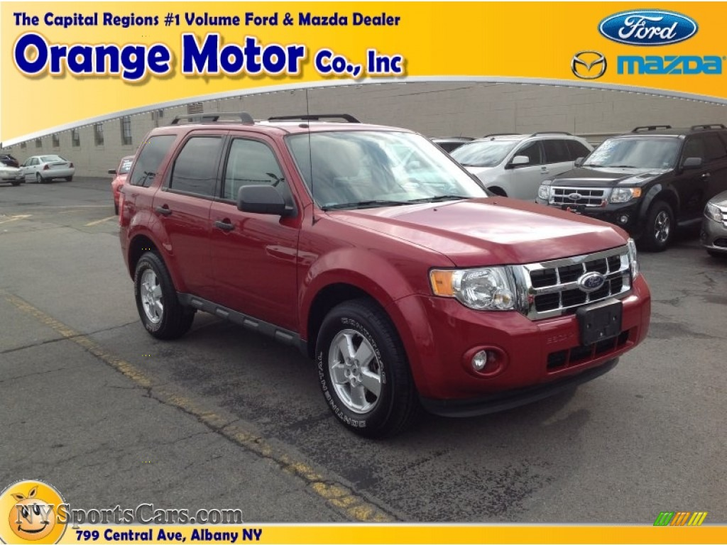 2001 ford escape xls v6 in toreador red metallic photo 19 for Orange motors albany new york