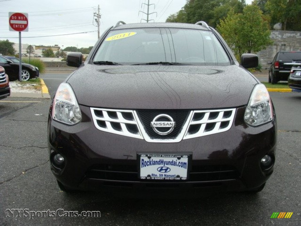 2011 Rogue SV AWD - Black Amethyst / Black photo #2