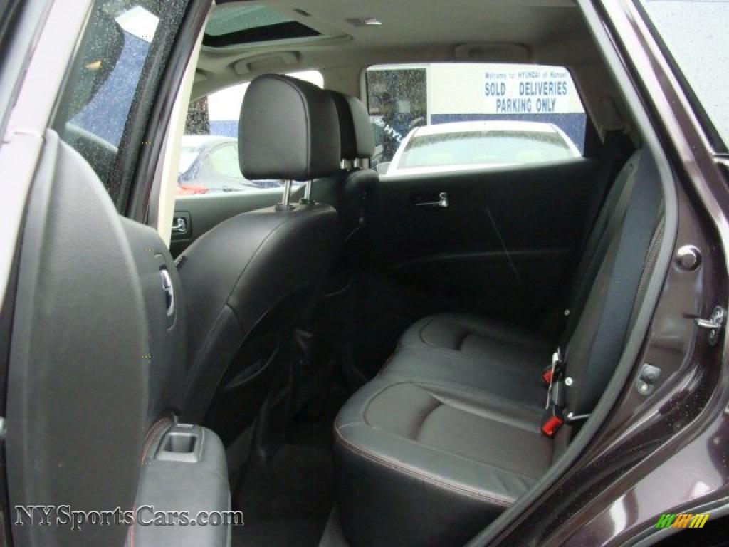 2011 Rogue SV AWD - Black Amethyst / Black photo #21