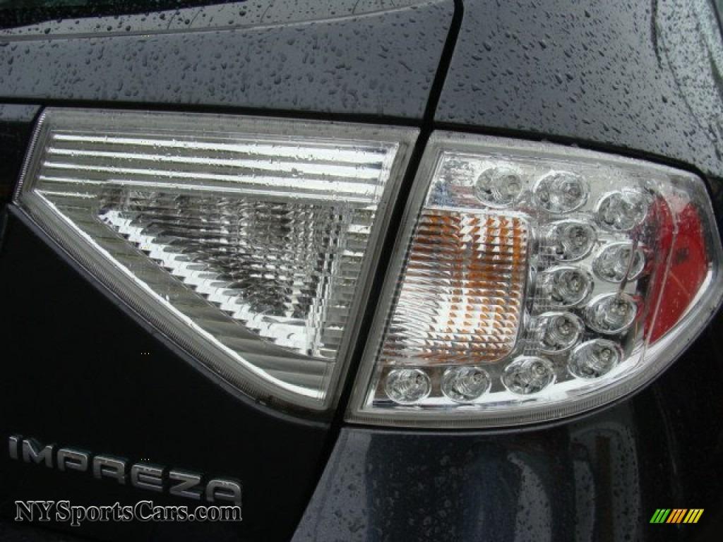 2011 Impreza 2.5i Premium Wagon - Dark Gray Metallic / Carbon Black photo #23
