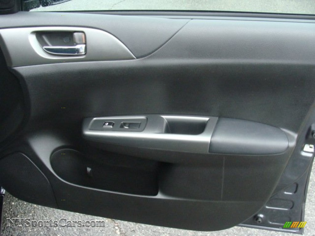 2011 Impreza 2.5i Premium Wagon - Dark Gray Metallic / Carbon Black photo #25
