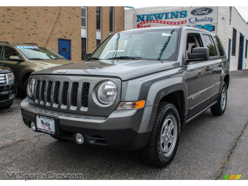 2013 jeep patriot sport 4x4 in mineral gray metallic 222345 cars for sale. Black Bedroom Furniture Sets. Home Design Ideas