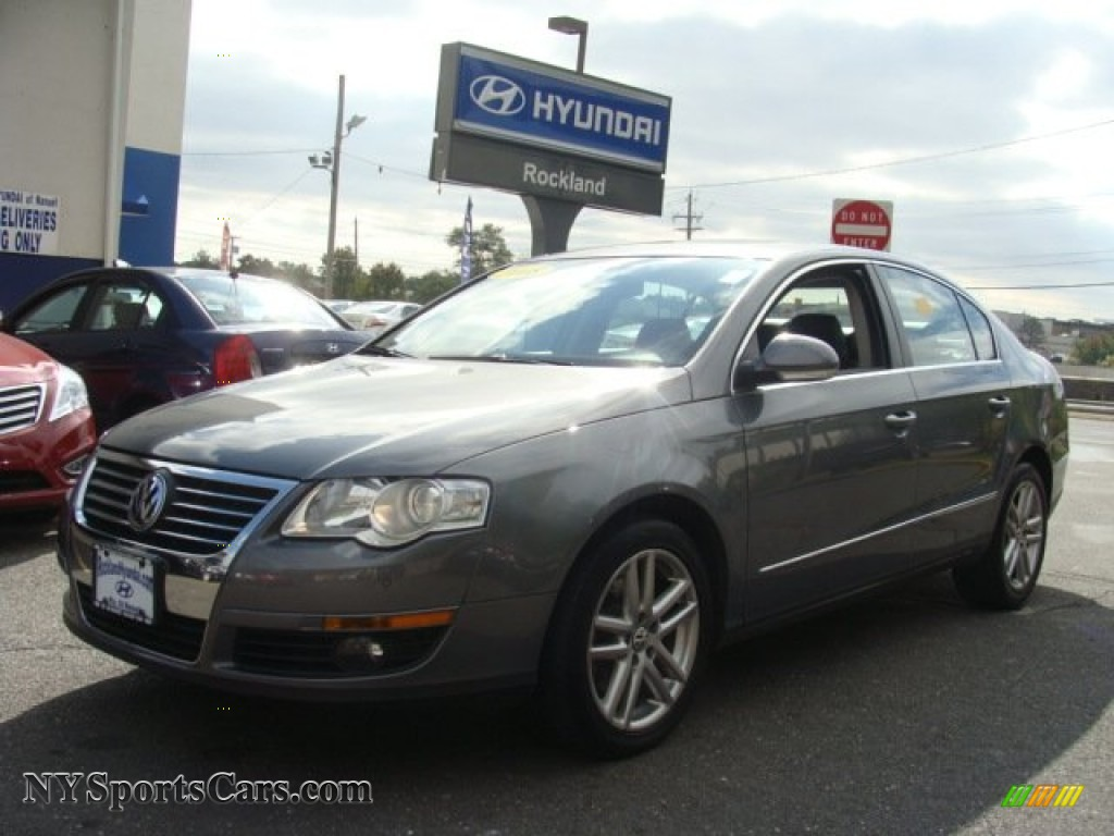2008 Passat Lux Sedan - United Gray / Black photo #1