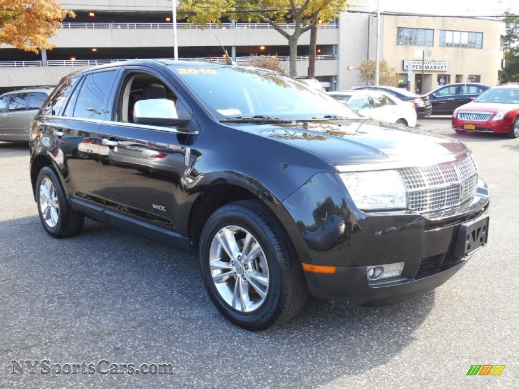 2010 lincoln mkx awd in tuxedo black metallic j02758 cars for sale in new. Black Bedroom Furniture Sets. Home Design Ideas