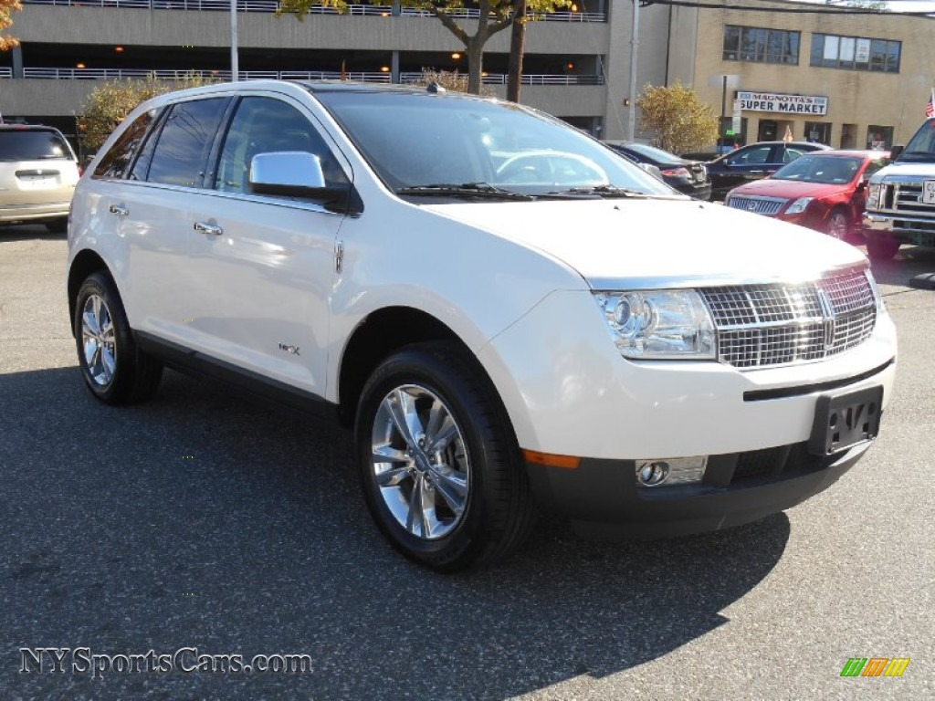 2010 lincoln mkx awd in white platinum tri coat j35319 cars for sale in. Black Bedroom Furniture Sets. Home Design Ideas