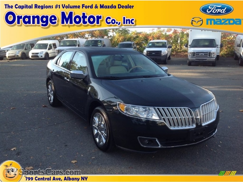 2010 lincoln mkz awd in atlantis green metallic 754070 for Orange motors albany new york