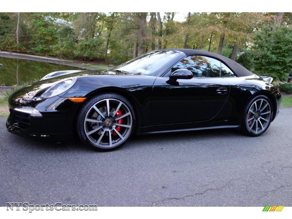 2014 porsche 911 carrera 4s cabriolet in black 154385 cars for sale in. Black Bedroom Furniture Sets. Home Design Ideas