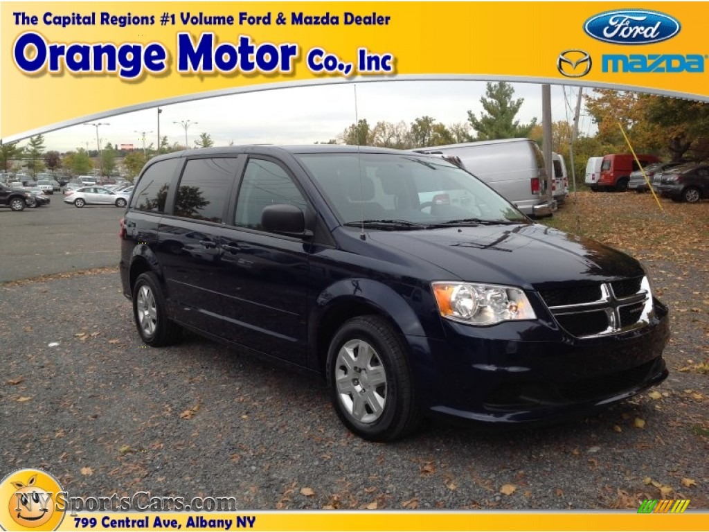 2012 dodge grand caravan se in true blue pearl 336486 for Orange motors albany new york