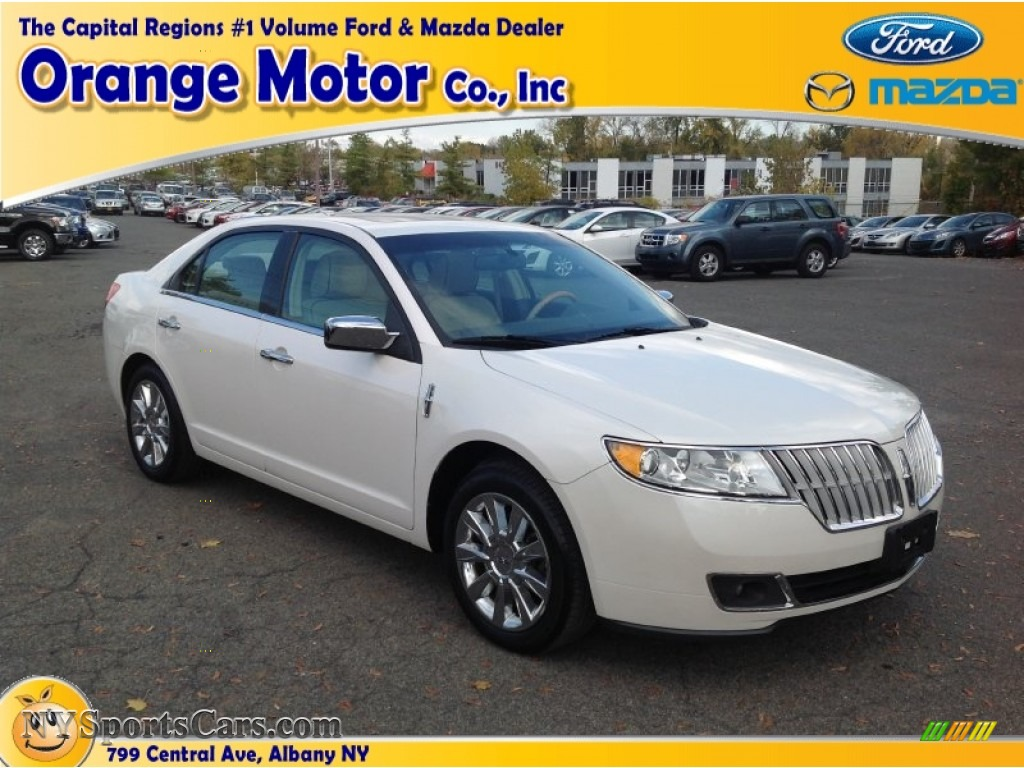 2010 lincoln mkz awd in white platinum tri coat 751562 cars for sale in. Black Bedroom Furniture Sets. Home Design Ideas