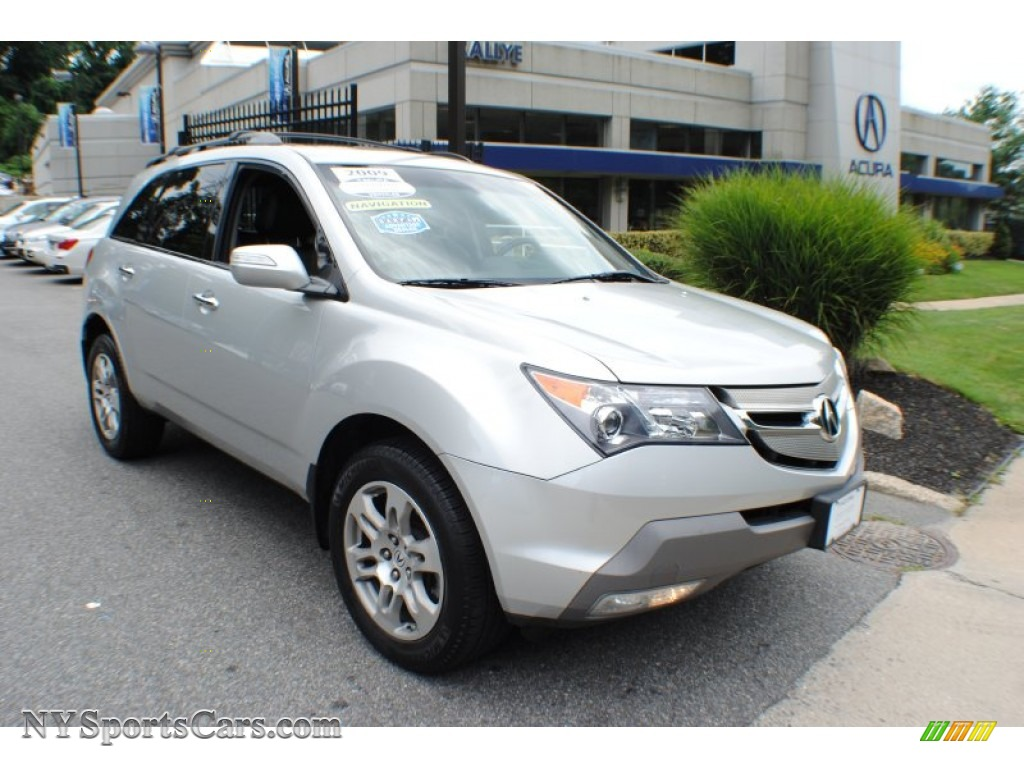2009 acura mdx technology in billet silver metallic 529647 cars for sale. Black Bedroom Furniture Sets. Home Design Ideas