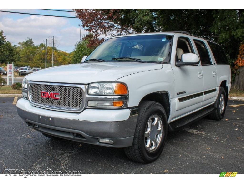 2004 gmc yukon xl 1500 slt 4x4 in summit white 109845 cars for sale in. Black Bedroom Furniture Sets. Home Design Ideas