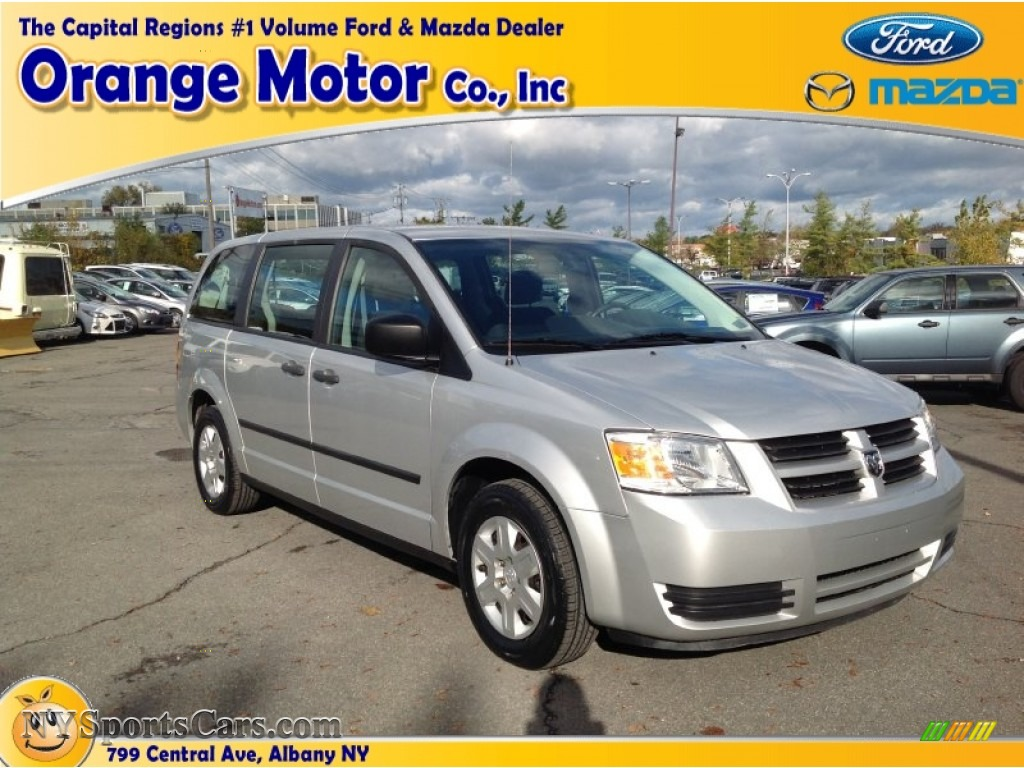 2008 dodge grand caravan se in bright silver metallic for Orange motors albany new york