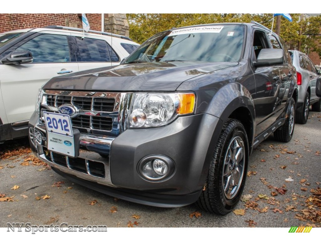 2012 Ford Escape Limited 4wd In Sterling Gray Metallic