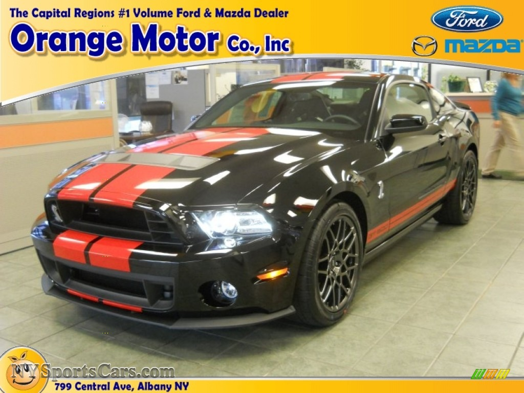2014 Ford Mustang Shelby GT500 SVT Performance Package Coupe in Black