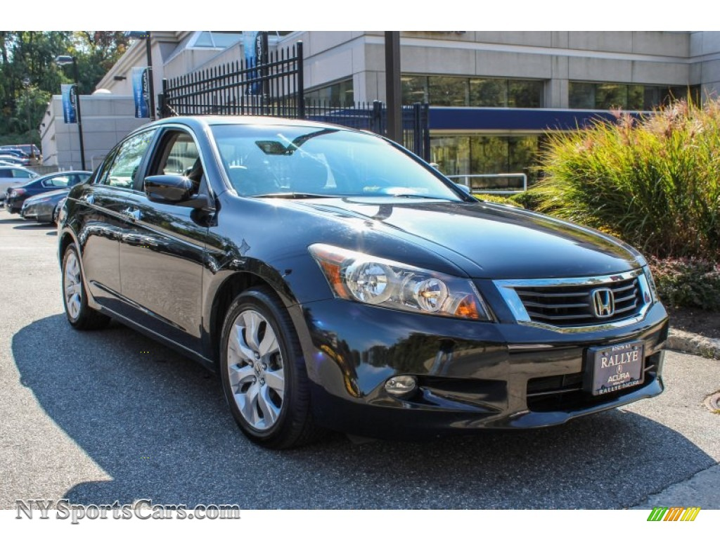 2008 Honda Accord Ex L V6 Sedan In Nighthawk Black Pearl