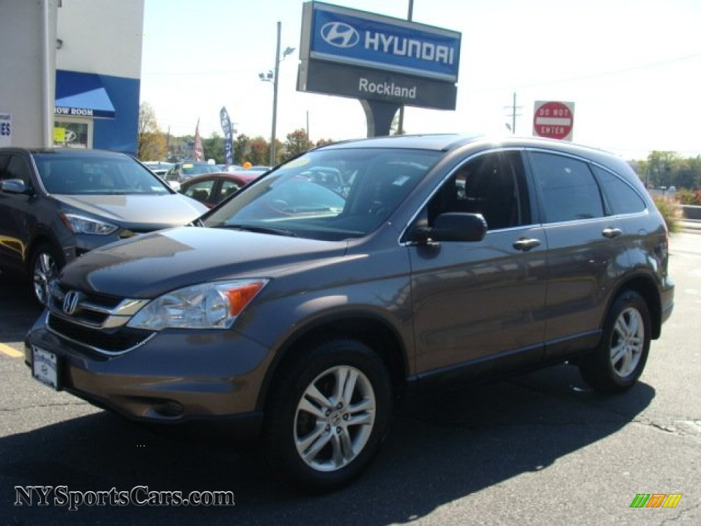 2011 CR-V EX 4WD - Urban Titanium Metallic / Black photo #1