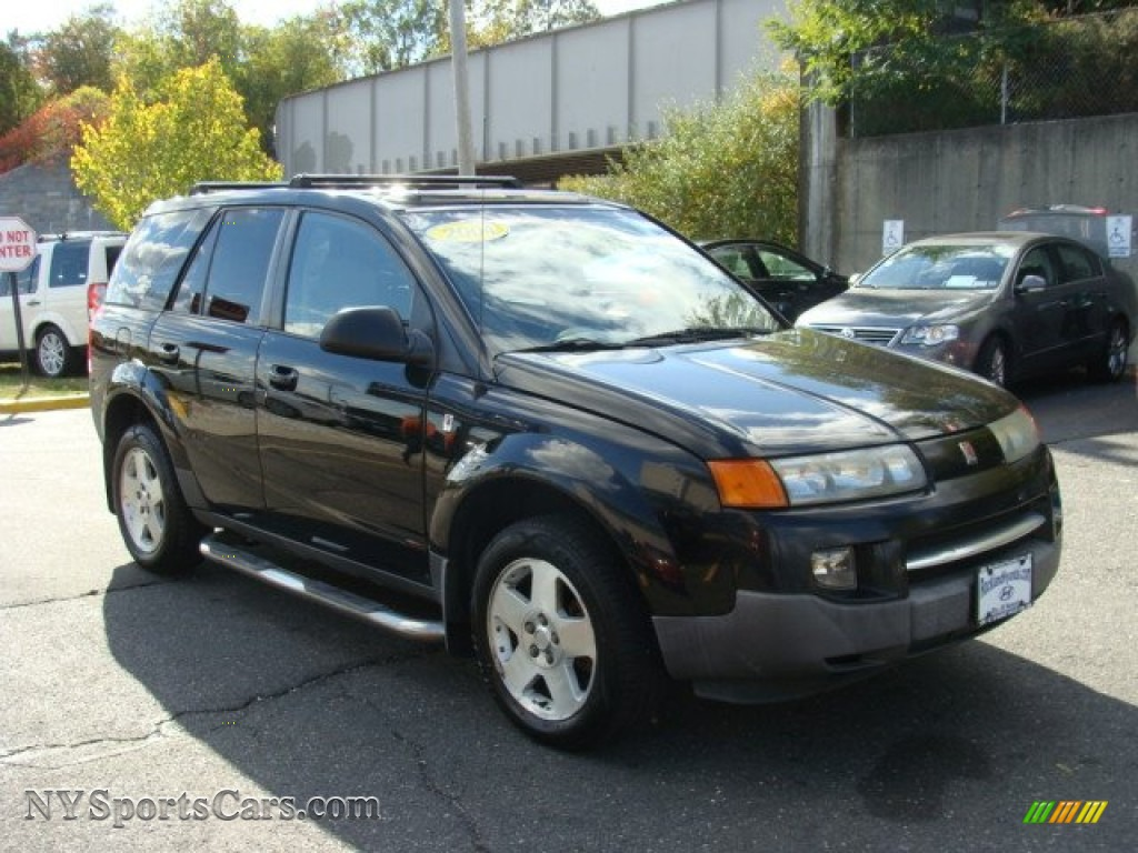 2004 VUE V6 - Black Onyx / Gray photo #3