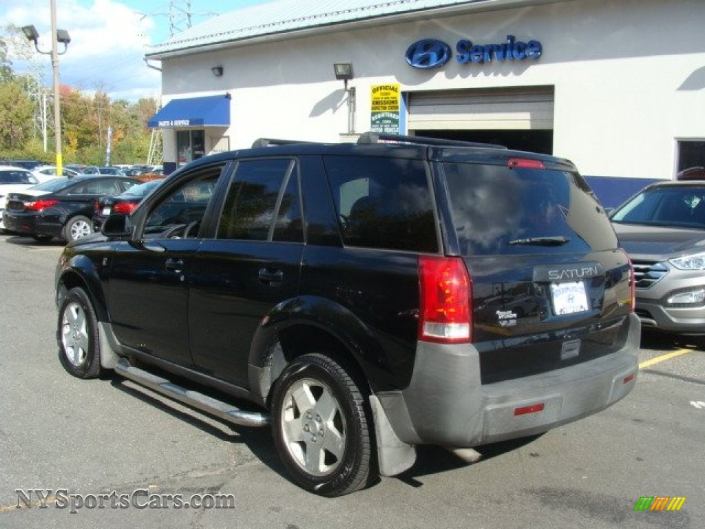2004 VUE V6 - Black Onyx / Gray photo #6