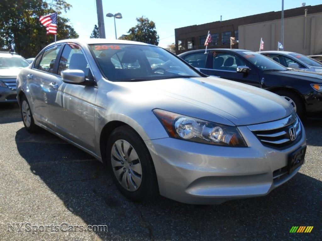 2012 honda accord lx sedan in alabaster silver metallic for Grey honda accord