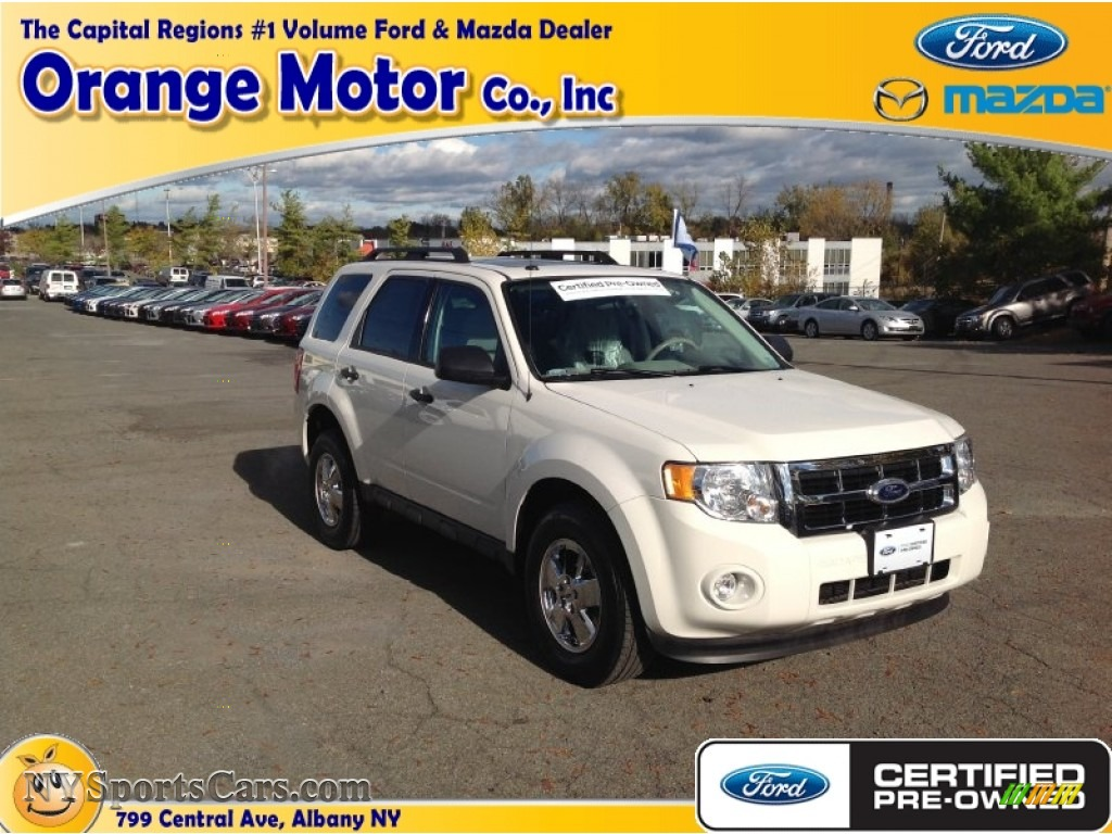 2012 ford escape xlt v6 in oxford white photo 13 c84719 for Orange motors albany new york