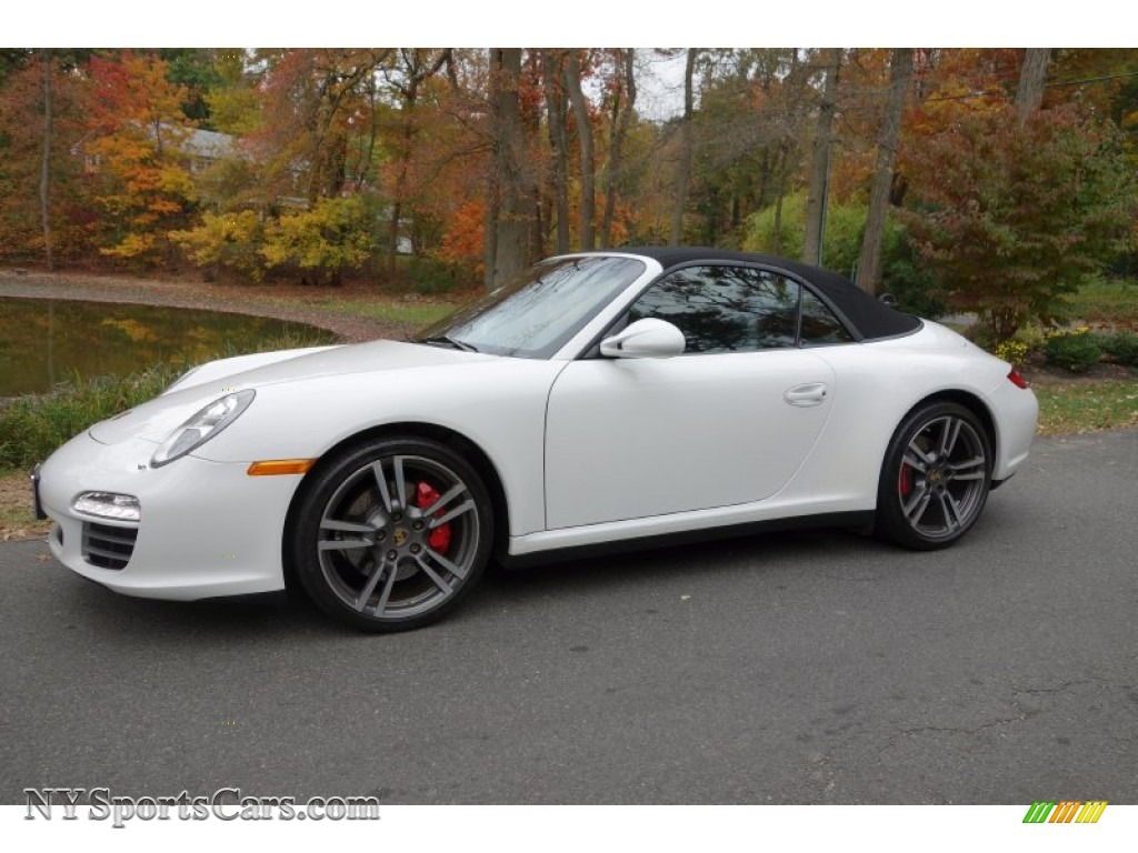 2011 Porsche 911 Carrera 4s Cabriolet In Carrara White