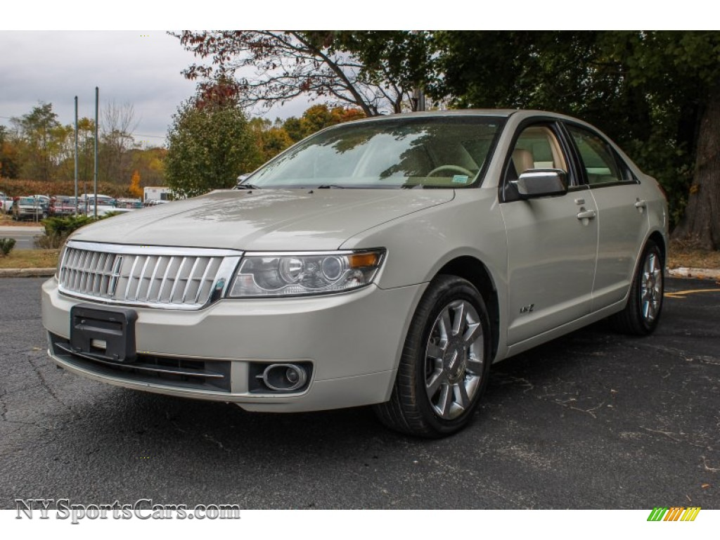 2007 lincoln mkz awd sedan in dune pearl metallic photo 8. Black Bedroom Furniture Sets. Home Design Ideas