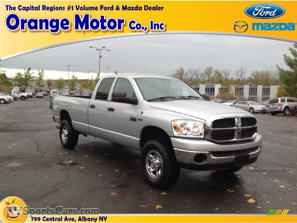 2007 dodge ram 2500 slt quad cab 4x4 in bright silver for Orange motors albany new york