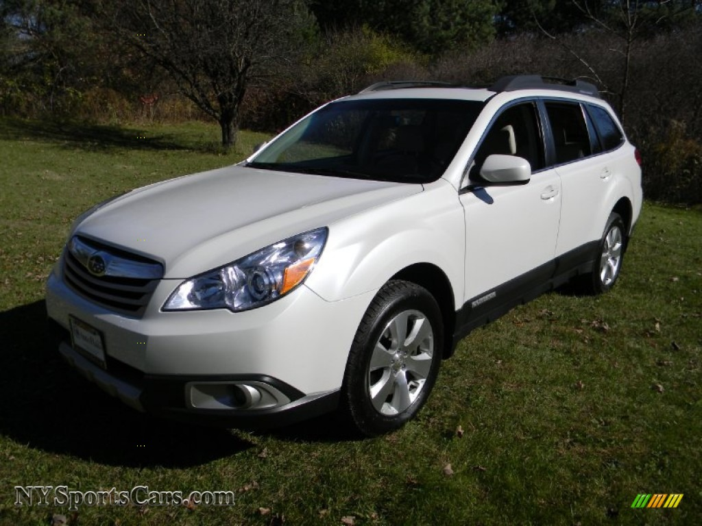 2010 subaru outback 3 6r limited wagon in satin white. Black Bedroom Furniture Sets. Home Design Ideas