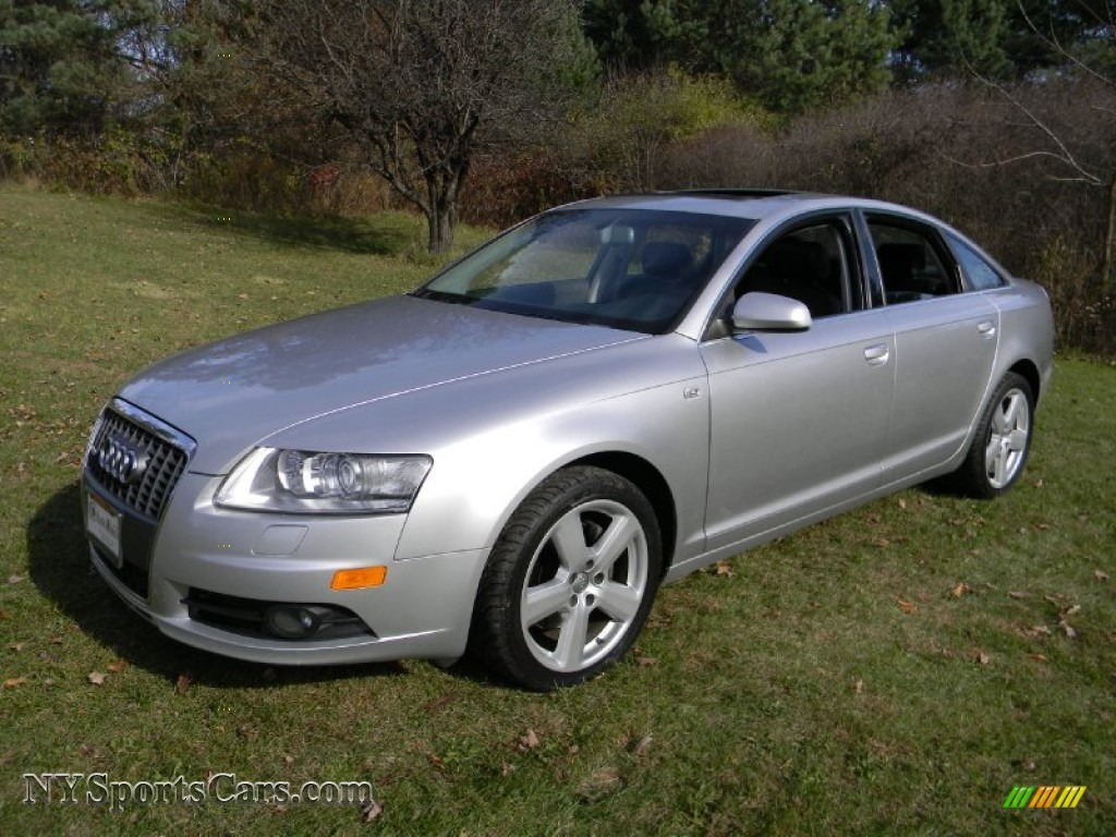 2008 audi a6 3 2 quattro sedan in light silver metallic 066868 cars for. Black Bedroom Furniture Sets. Home Design Ideas
