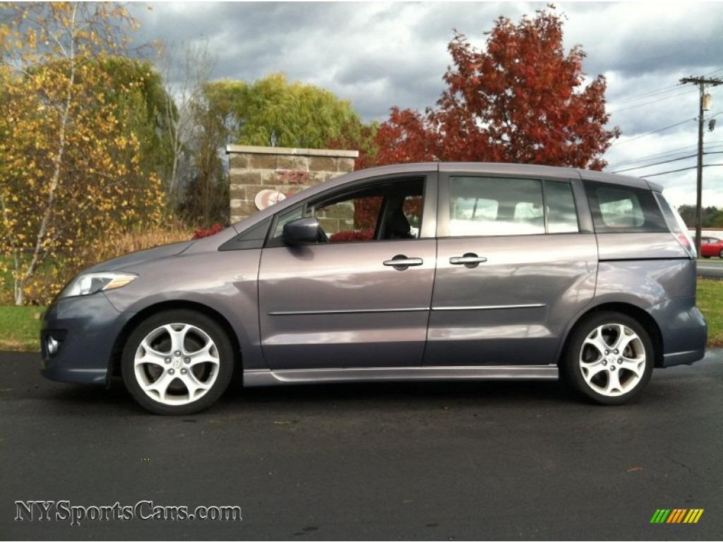 2008 Mazda Mazda5 Grand Touring In Galaxy Gray 313955 Nysportscars Com Cars For Sale In