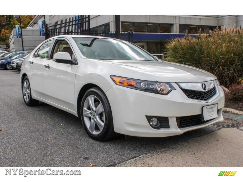 2010 acura tsx sedan in premium white pearl 043634. Black Bedroom Furniture Sets. Home Design Ideas