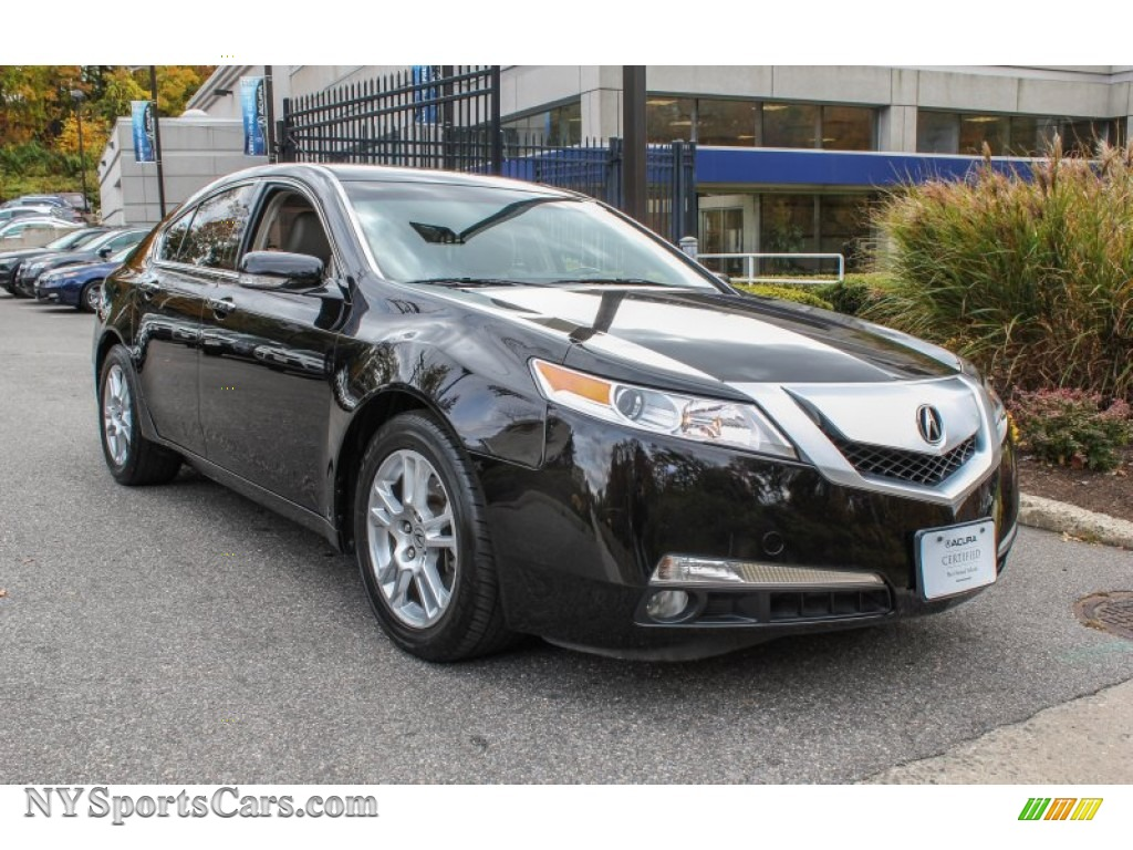 2009 acura tl 3 5 in crystal black pearl 004008 cars for sale in new york. Black Bedroom Furniture Sets. Home Design Ideas