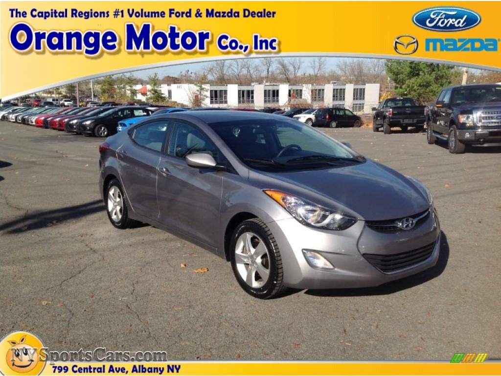 2012 hyundai elantra gls in titanium gray metallic for Orange motors albany new york