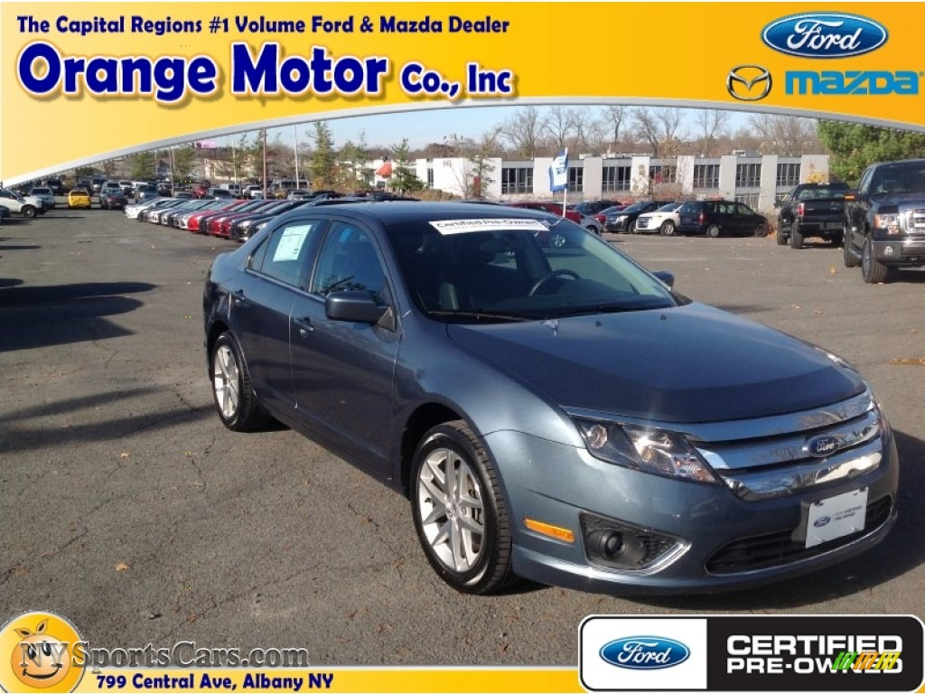 2012 ford fusion sel v6 in steel blue metallic photo 6 for Orange motors albany new york