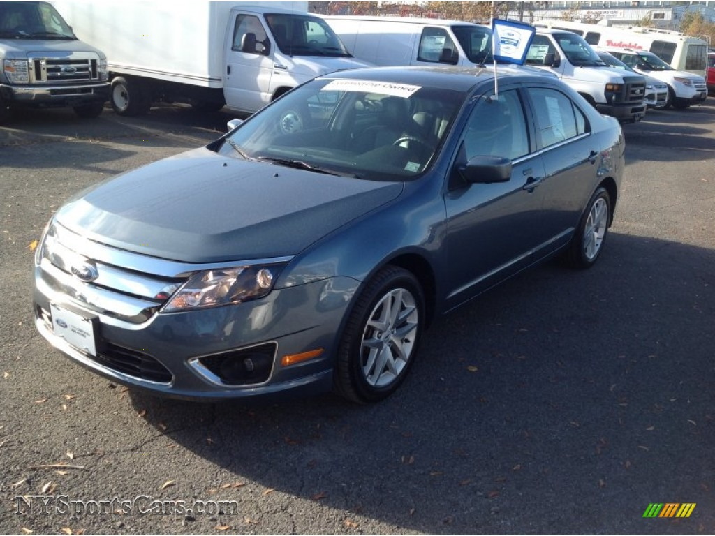 2012 ford fusion sel v6 in steel blue metallic photo 3 229693 cars for. Black Bedroom Furniture Sets. Home Design Ideas