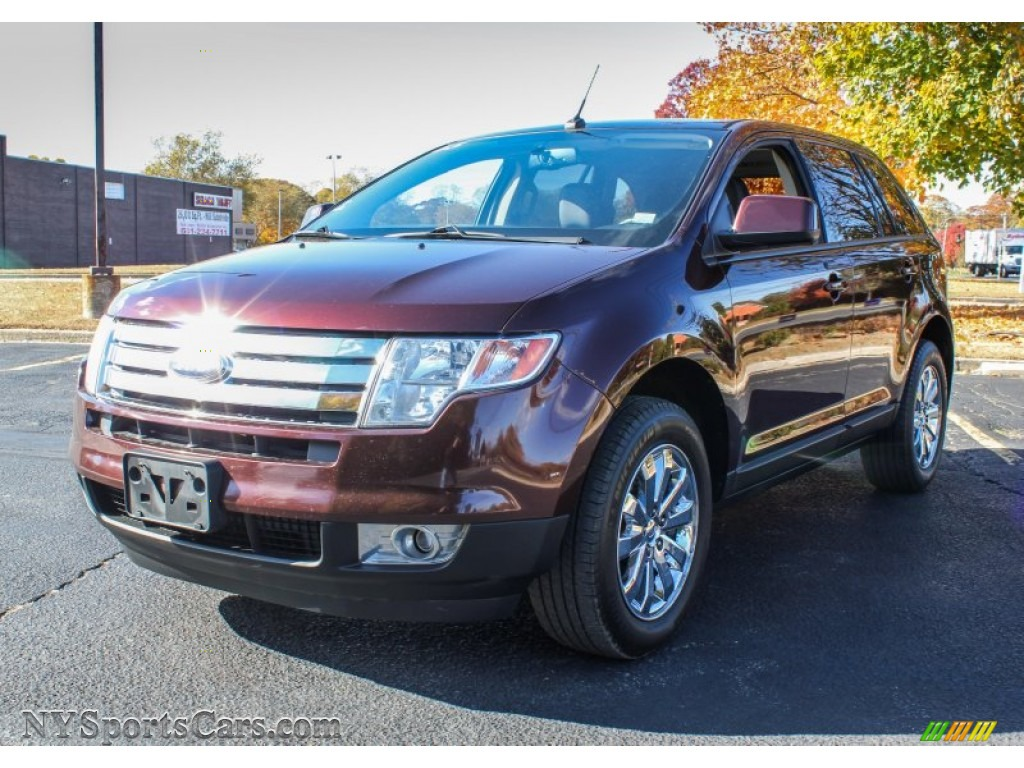 2010 ford edge sel awd in cinnamon metallic b40445 cars for sale in new york. Black Bedroom Furniture Sets. Home Design Ideas
