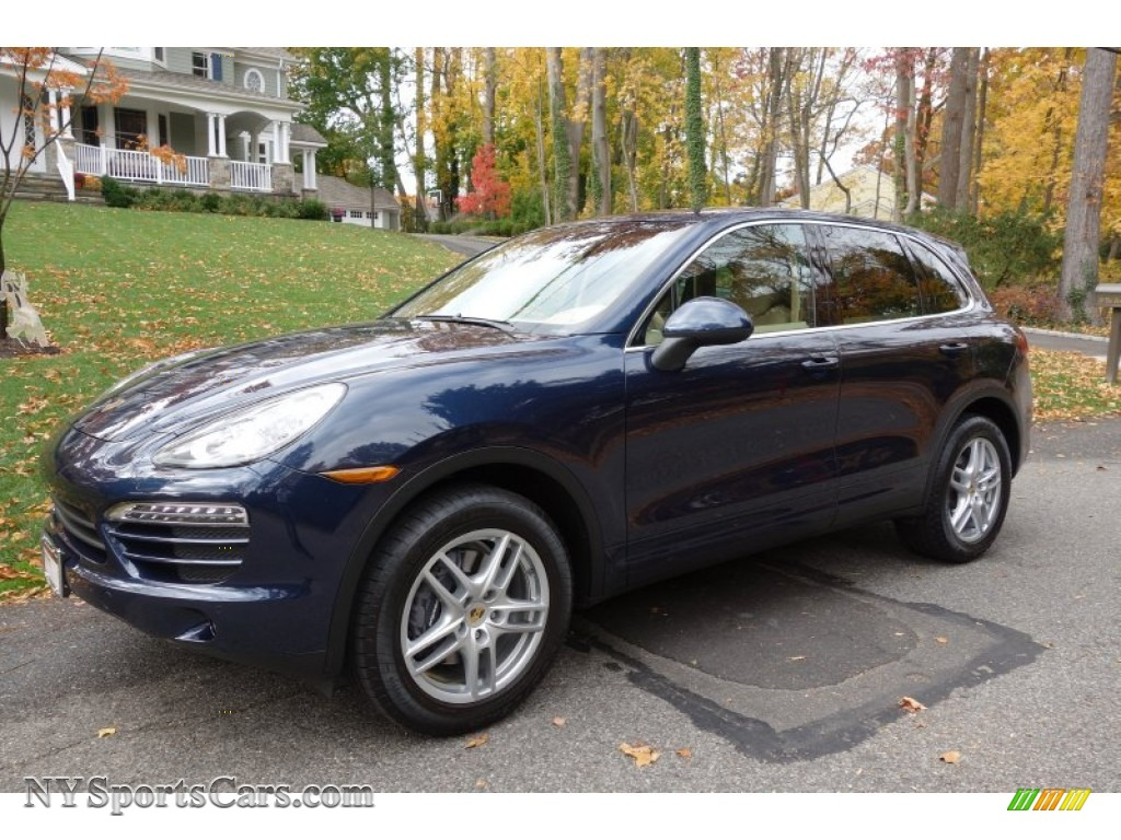 2011 Porsche Cayenne In Dark Blue Metallic A05290 Nysportscars Com Cars For Sale In New York