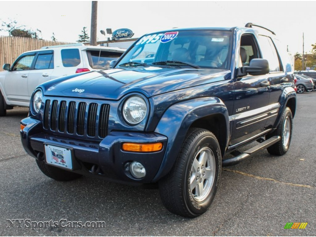 2002 jeep liberty limited 4x4 in patriot blue pearlcoat 224500 cars for. Black Bedroom Furniture Sets. Home Design Ideas