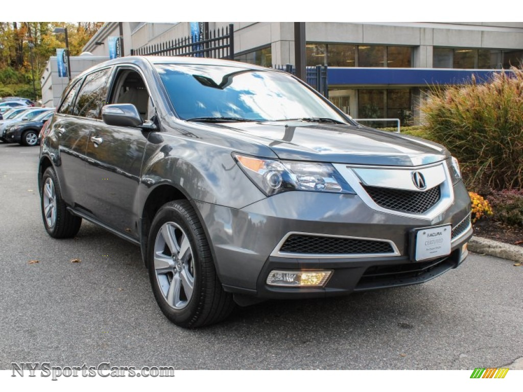 2011 Acura Mdx Technology In Polished Metal Metallic