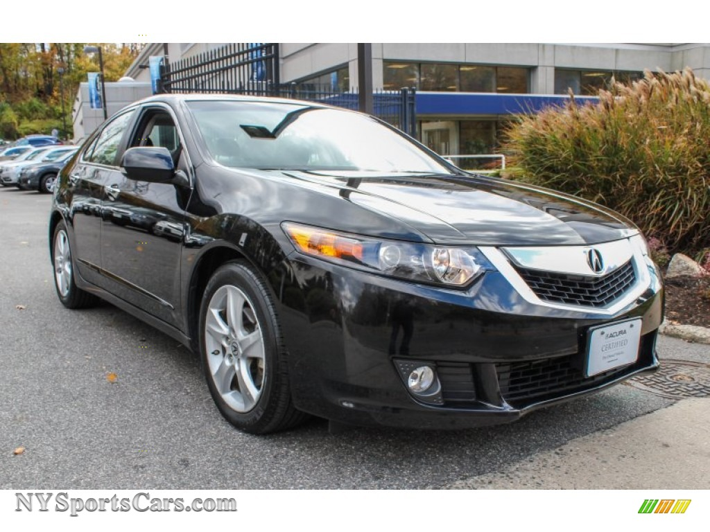 2010 acura tsx sedan in crystal black pearl 038120. Black Bedroom Furniture Sets. Home Design Ideas