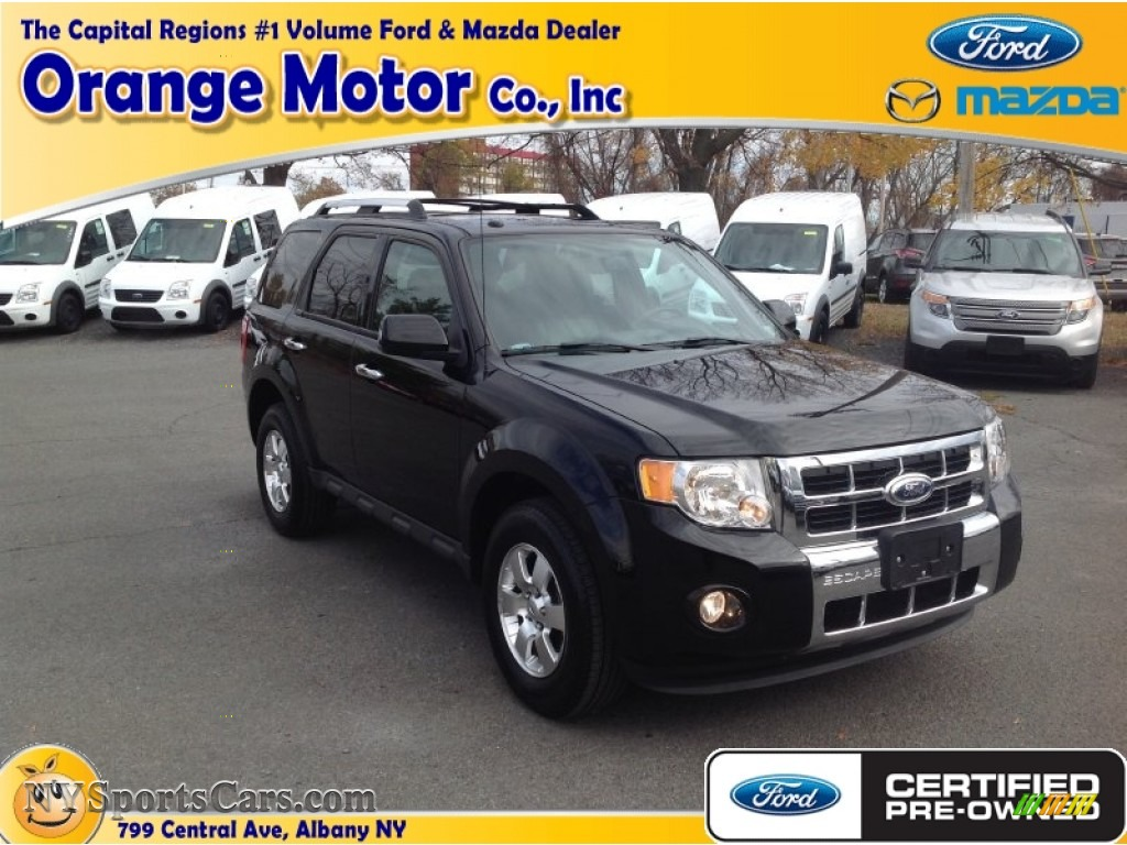 2012 ford escape limited v6 4wd in ebony black photo 4 for Orange motors albany new york