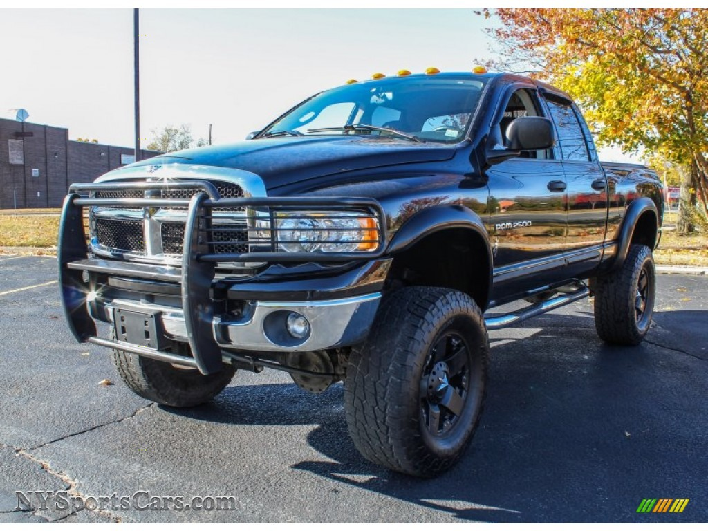 2005 dodge ram 2500 st quad cab 4x4 in black 819422 cars for sale in new york. Black Bedroom Furniture Sets. Home Design Ideas