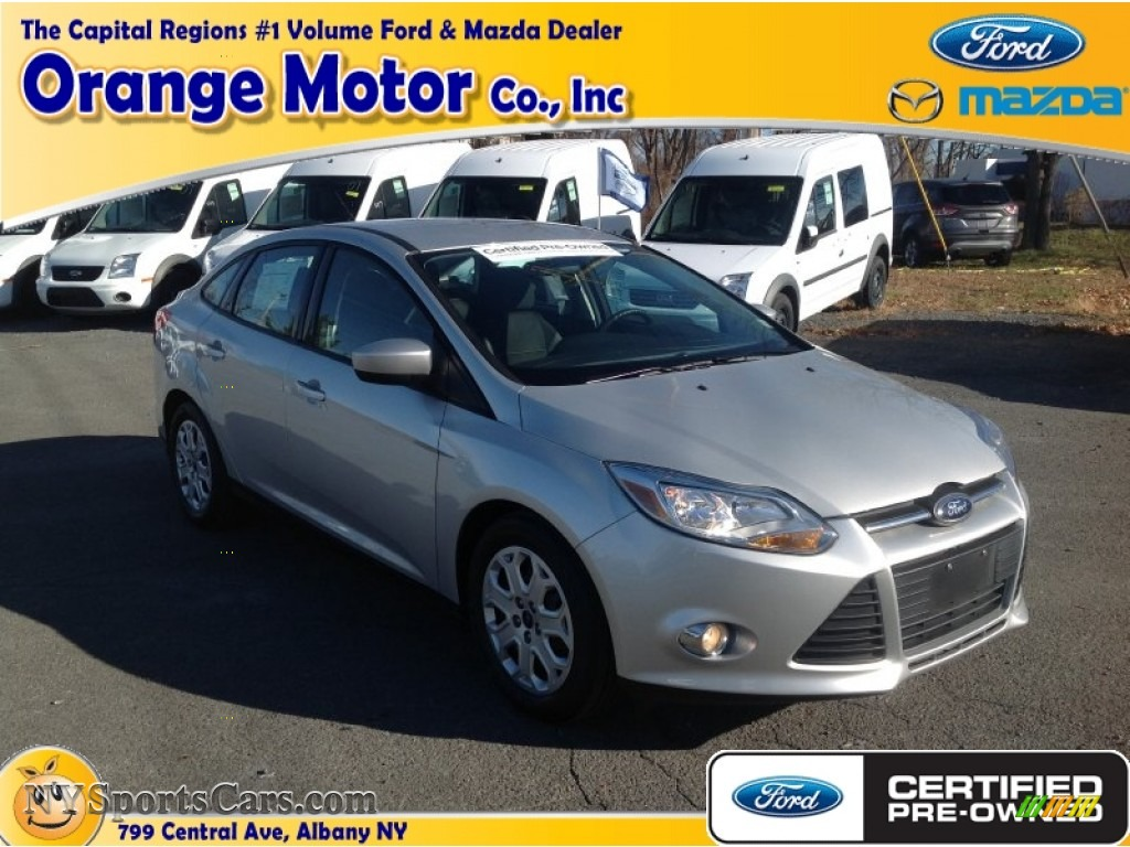 2012 ford focus se sedan in ingot silver metallic photo for Orange motors albany new york