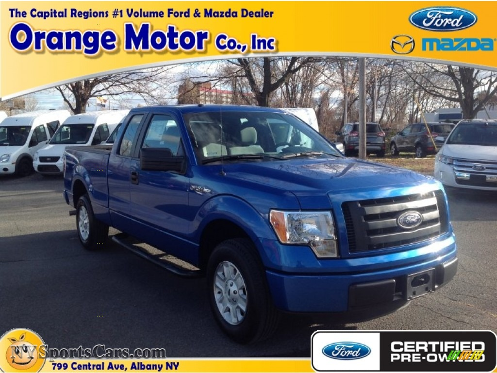 2012 ford f150 stx supercab in blue flame metallic for Orange motors albany new york