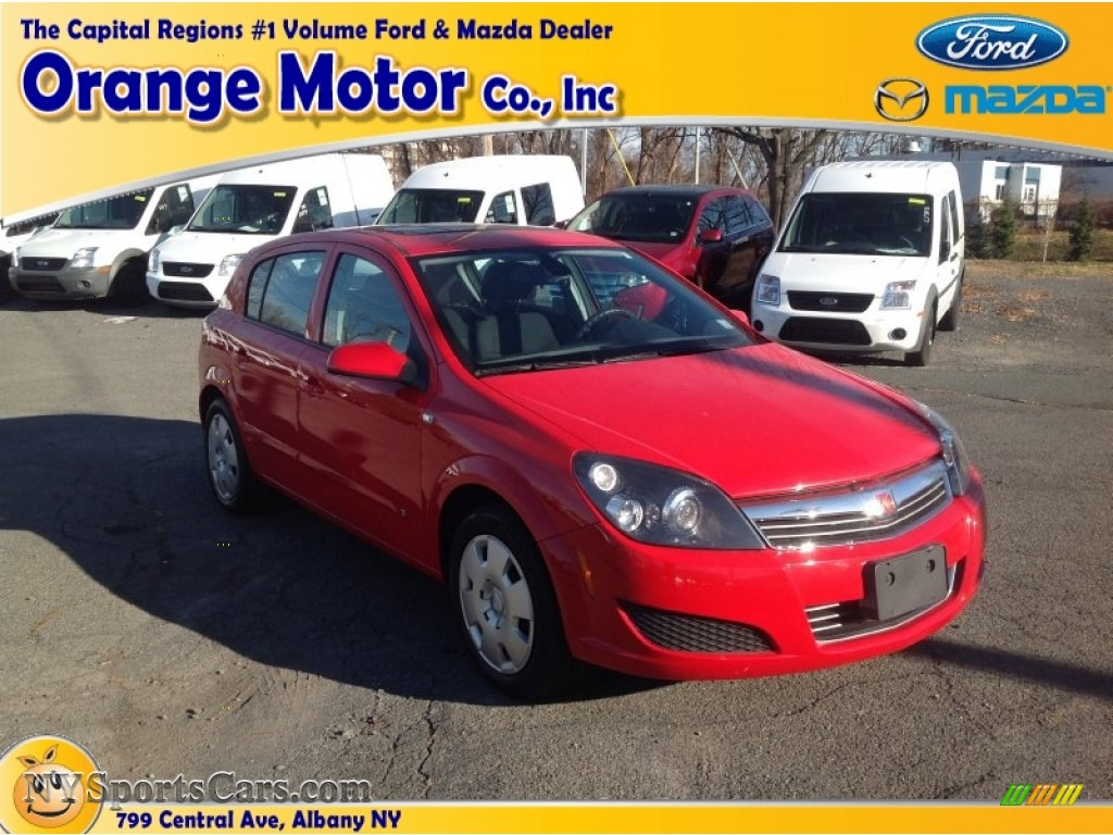 2008 saturn astra xe sedan in salsa red 111005 for Orange motors albany new york