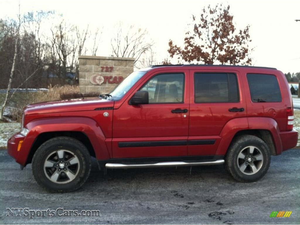 Liberty Buick Gmc >> 2008 Jeep Liberty Sport 4x4 in Red Rock Crystal Pearl - 244557 | NYSportsCars.com - Cars for ...