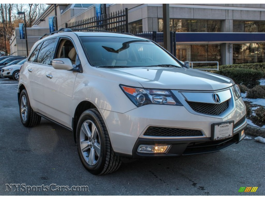 2010 acura mdx technology in aspen white pearl 515907 cars for sale in. Black Bedroom Furniture Sets. Home Design Ideas