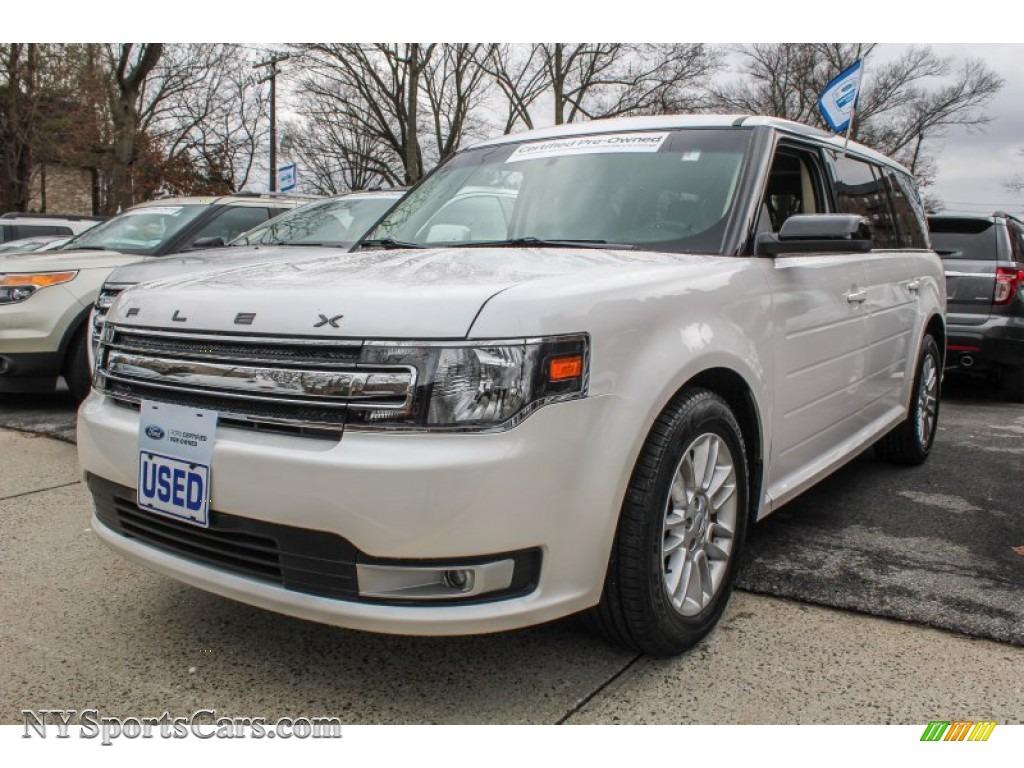 2013 Ford Flex Sel Awd In White Platinum Metallic Tri Coat